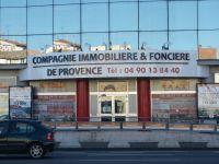 Enseigne Casquette avec lettres boitiers Aluminium Compagnie immobiliere de Provence Avignon
