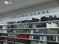Lettres individuelles découpés en PVC magasin Nocibé