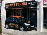 Décoration de véhicule en adhésif numérique pour KWS Permis