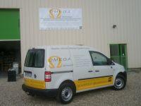 Décors de véhicule en adhésif pour la société Omega