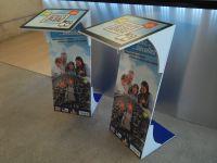Pupitres pvc Vinci Autoroute decors impression numérique