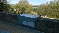 Signalétique touristique . Villeneuve les Avignon Gard
