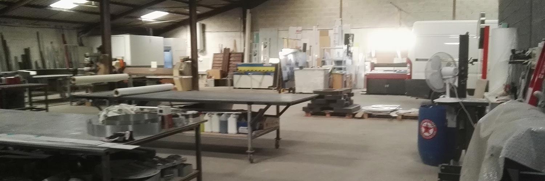 L'atelier Profilpub de 540m²