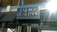 Réalisation de l'enseigne casquette aluminium lettre inox brossé.Vallauris 06 Alpes Maritime