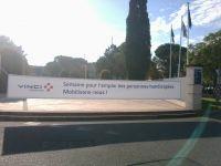 Pose de bache en impression numérique pour Vinci autoroute