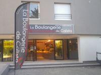 pose de panneau enseigne la Boulangerie de Calista